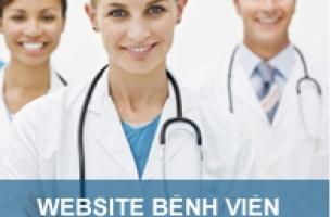Thiết kế web bệnh viện