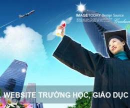Thiết kế website trường học, giáo dục
