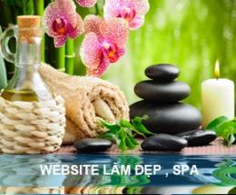 Thiết kế website làm đẹp - SPA