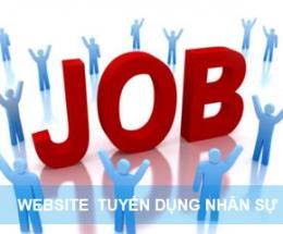 Thiết kế website nhân sự