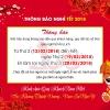 Thông báo nghỉ tết Âm lịch 2018