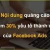 Giới thiệu về cấu trúc của quảng cáo trên Facebook