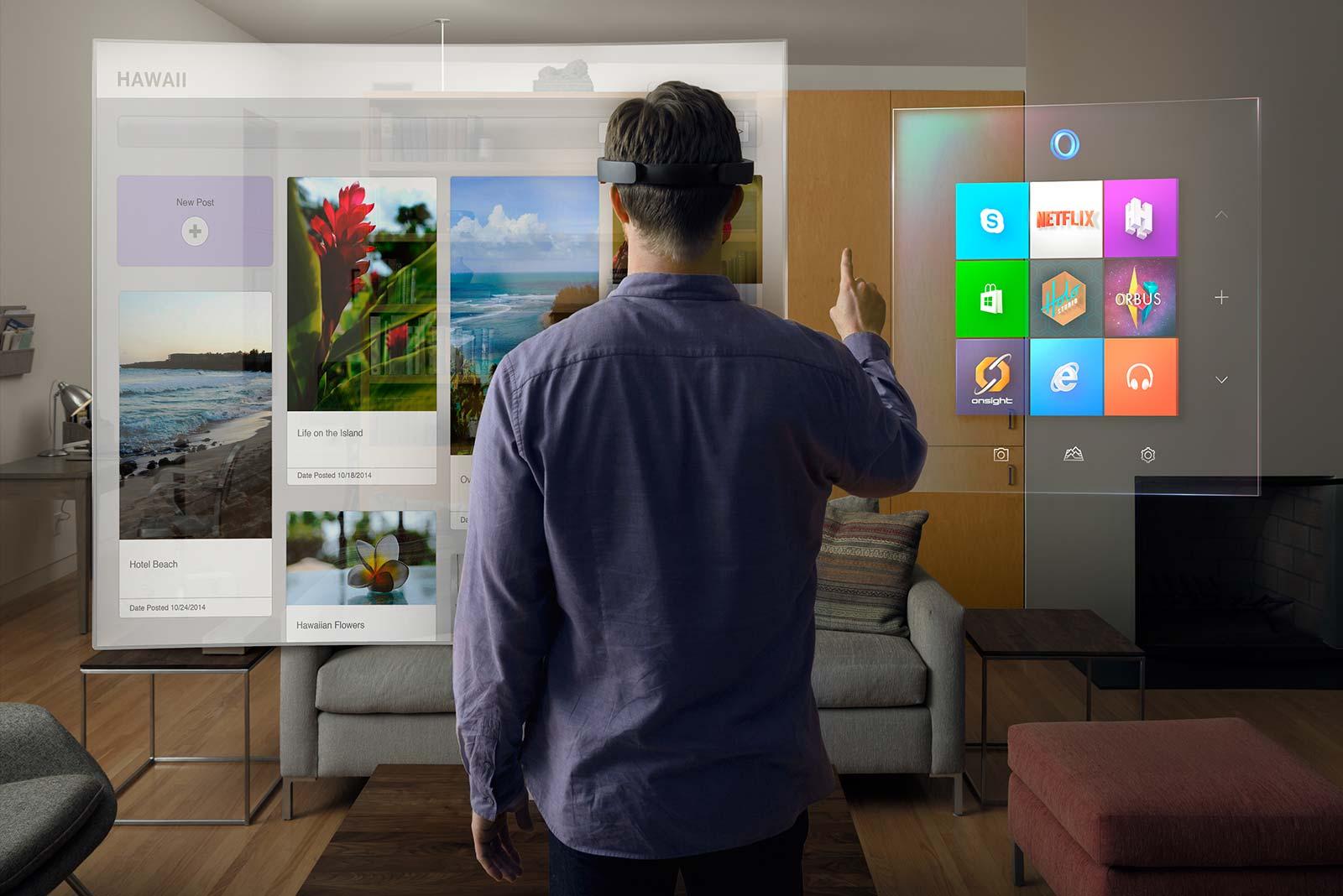 Microsoft HoloLens: Hướng tới tương lai
