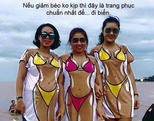Cách giảm béo hữu hiệu cho các chị em - ảnh hài hot nhất Facebook, 10 ảnh hot Facebook